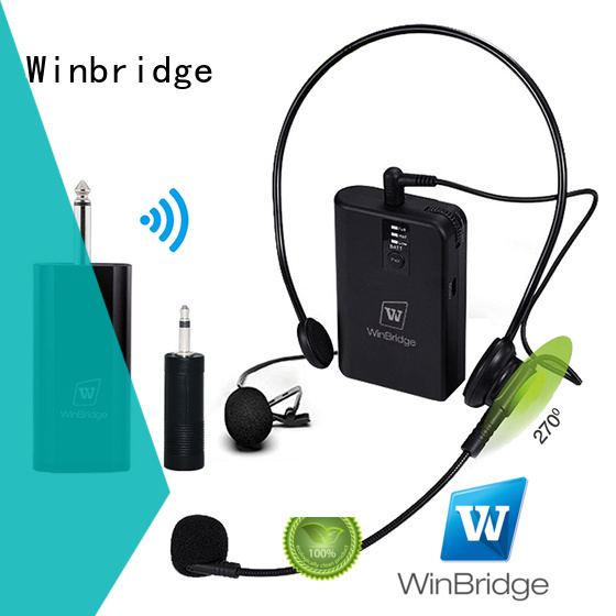 mic wireless video recording wired winbridge Winbridge Brand wireless microphone