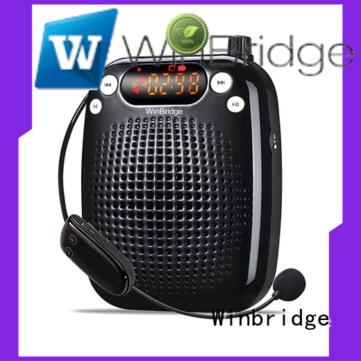 teacher portable microphone voice enhancer headset Winbridge