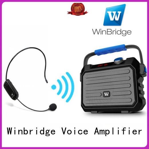 Custom remote control multifunction karaoke speaker Winbridge wireless