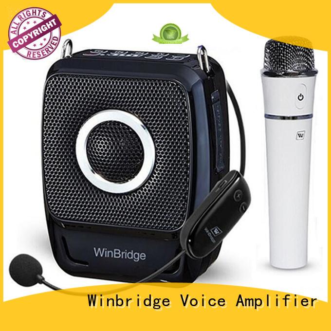 waterproof voice enhancer wireless bluetooth Winbridge company