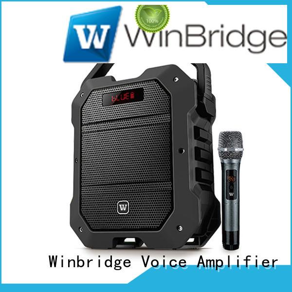 Hot portable karaoke speaker outdoor comfortable Winbridge Brand
