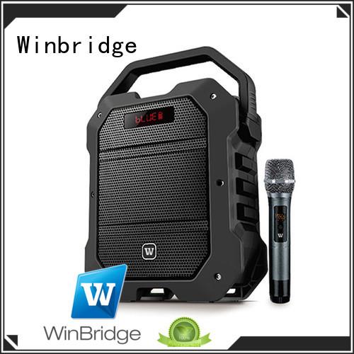 speaker karaoke bluetooth multifunction Winbridge Brand
