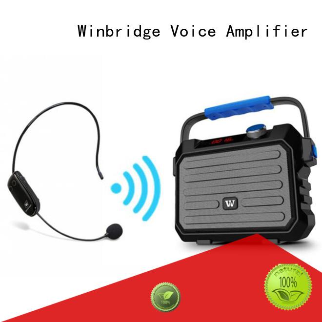 comfortable stylish bluetooth karaoke speaker winbridge Winbridge