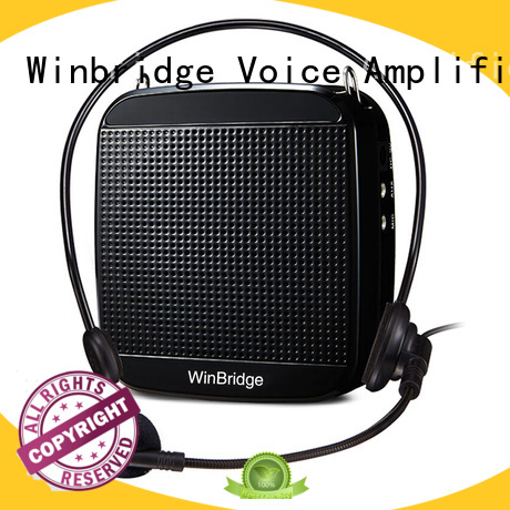 waterproof bluetooth voice enhancer portable Winbridge company