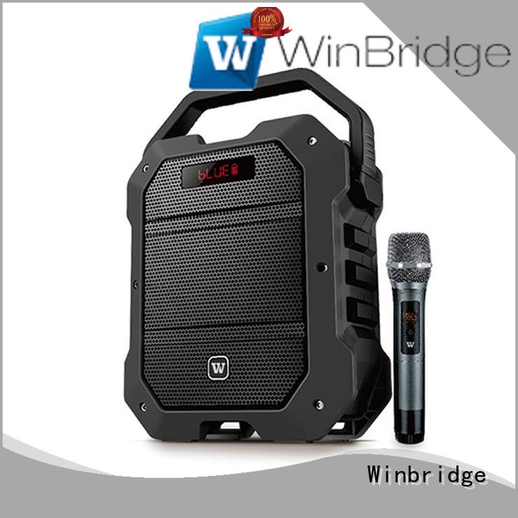 stylish ergonomic comfortable Winbridge Brand karaoke speaker