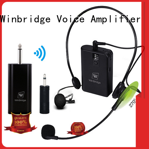 easy to use system humanized appearance video recording Winbridge Brand wireless microphone supplier