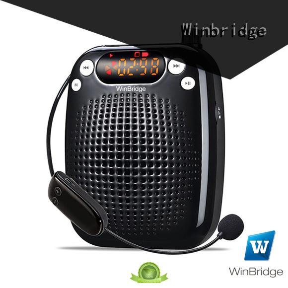 Custom teacher voice enhancer wireless Winbridge